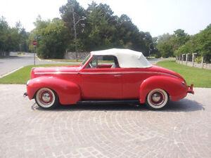 1940 mercury convertible mustang running gear.