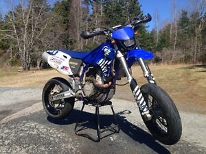 01 YZ426 BLUE PAPER SUPERMOTO STREET TRAIL