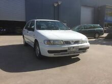 1998 Nissan Pulsar N15II LX White 4 Speed Automatic Sedan Spotswood Hobsons Bay Area Preview