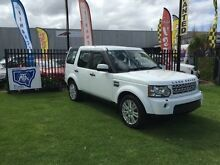 2012 Land Rover Discovery 4 Series 4 L319 MY13 TDV6 White 8 SPORTS AUTOMATIC Wagon Minto Campbelltown Area Preview
