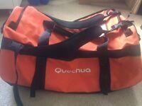 Quechua 100L duffel bag
