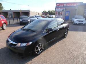 2010 HONDA CIVIC AUTO AIR CLEAN LOW KMS EASY FINANCE