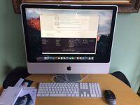 Apple iMac 24 in – 3.06 GHz, 4GB 500Mb HD