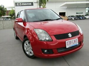 2009 Suzuki Swift RS415 RE4 Red 4 Speed Automatic Hatchback Maroochydore Maroochydore Area Preview