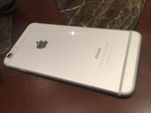 iphone6plus 128gig $490 with crack screen