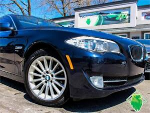 '11 BMW 535i xDrive+NAV+BMWProAud+Roof+HeatSeats! $136/Pmts!!