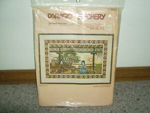 "VINTAGE PARAGON EMBROIDERY KIT ""ORIENTAL SPLENDOR NIP"