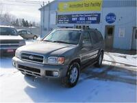 2001 Nissan Pathfinder LE|SOLD ASIS| LOCAL TRADE IN|4X4