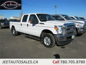 2012 Ford F-250 XLT CREW CAB 4X4 8FT BOX 6.2L GAS