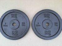 26.4 lb 12kg Metal Dumbbell Barbell Weights - Heathrow