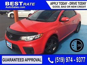 KIA FORTE KOUP - APPROVED IN 30 MINUTES! - ANY CREDIT LOANS