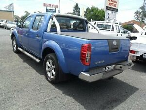 2012 Nissan Navara D40 S6 ST Blue Manual Utility Mudgee Mudgee Area Preview