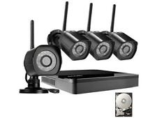 Zmodo HD Wireless Surveillance System 4 Channel NVR with 1TB HDD 4 HD 720p Outdo