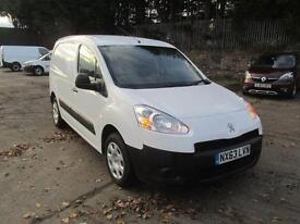 Peugeot Partner L1 850 S 1.6 Hdi 92PS Van SLD DIESEL MANUAL WHITE (2013)