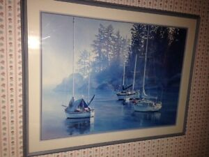 KIFF HOLLAND  Custom Framed North Shore Greater Vancouver Area image 1