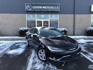 2016 Chrysler 200 Limited only $125 B/W OAC