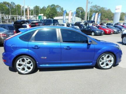 2009 Ford Focus LV XR5 Turbo Blue 6 Speed Manual Hatchback Alexandra Headland Maroochydore Area Preview