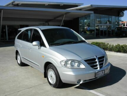 2005 Ssangyong Stavic A100 Limited Silver 5 Speed Auto Seq Sportshift Wagon Yamanto Ipswich City Preview
