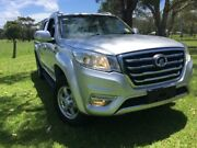 2017 Great Wall Steed LUXURY 4X4 Silver 6 Speed Manual Dual Cab Tuggerah Wyong Area Preview