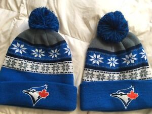 Two official Blue Jays hats