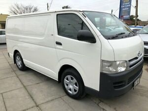 2008 Toyota HiAce KDH201R MY07 Upgrade LWB White 5 Speed Manual Van Park Holme Marion Area Preview
