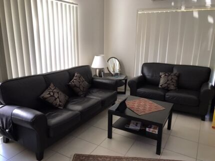 Genuine Leather Lounges( negotiable price)