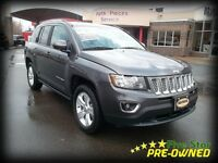 2015 Jeep Compass HIGH ALTITDUDE LEATHER AND SUNROOF!