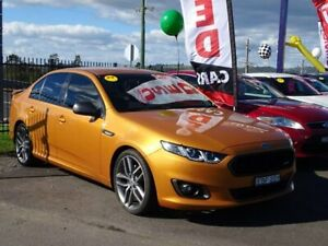 2015 Ford Falcon FG X XR6 Turbo Gold 6 Speed Sports Automatic Sedan Albion Park Rail Shellharbour Area Preview