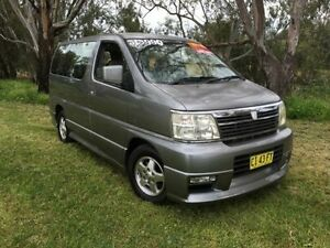2000 Nissan Elgrand E50 CAMPERVAN Silver 4 Speed Automatic Wagon Coonamble Coonamble Area Preview