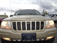 LIFTED---2000 Jeep Grand Cherokee LIMITED 4X4-LEATHER-SUNROOF