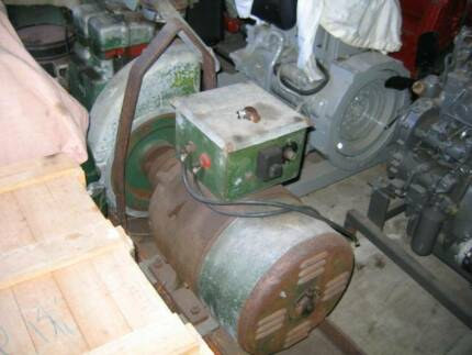 GENERATOR W/- 2 CYLINDER LISTER Karrabin Ipswich City Preview