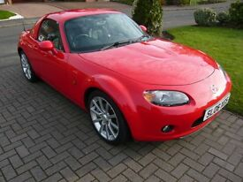 2006 Mark 3 MAZDA MX-5 2.0i SPORT Red Convertible 6 speed Petrol Manual with MX5 Factory hardtop
