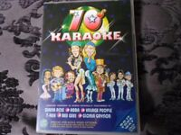 Karaoke DVD with 10 tracks from the 70s.