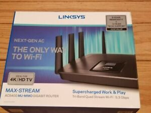 Linksys EA9500 Max-Stream AC5400 Tri Band Gigabit Wi-Fi Router