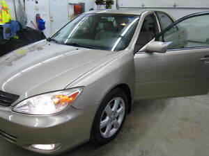 2002 Toyota Camry XLE LOADED Sedan / LEATHER SEATS /  V6