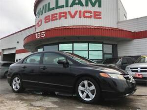 2008 Honda Civic Sdn LX ONLY 117KM! Clean Title! Command Start!