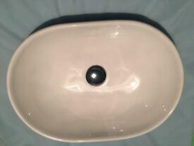 Bathroom Saneux basin sink Podium Sit On Bowl & Tall Saneux NicholsonTap Mono Basin Mixer £70 OVNO