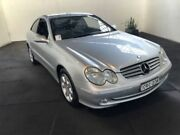 2005 Mercedes-Benz CLK320 C209 Elegance Silver 5 Speed Auto Touchshift Coupe Clemton Park Canterbury Area Preview