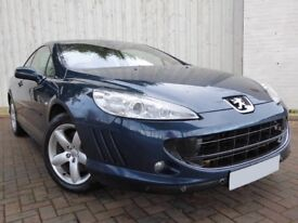 Peugeot 407 Coupe 2.2 SE ...Lovely Low Mileage Example, with Full Leather Interior, New MOT Included