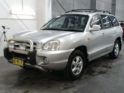 2004 Hyundai Santa Fe GLS (4x4) GLS (4x4) Silver 4 Speed Automatic Wagon Beresfield Newcastle Area Preview