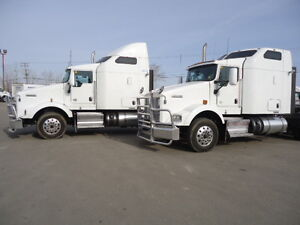 (2) - 2012 KENWORTH T-800 WITH TRU-NORTH WARRANTY!