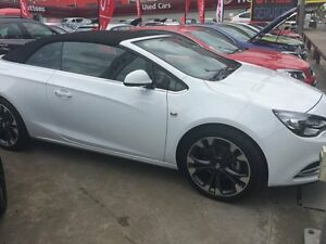 2015 Holden Cascada CJ MY16 White 6 Speed Automatic Convertible Homebush Strathfield Area Preview