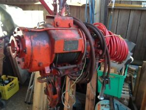 Ingersoll Rand Cable Hoist Winch