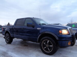 SOLD__2008 FORD F150 FX4 SUPERCREW-4X4-DVD-HDTV-LEATHER-SUNROOF-