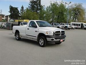 2007 DODGE RAM 2500 ST REGULAR CAB LONG BOX 4X4 **HEMI**