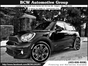 2014 MINI Cooper Countryman S AWD JCW Certified WOW! $22,995.00