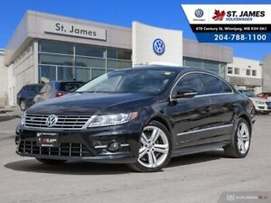 2015 Volkswagen CC Execline 3.6 VR6 4MOTION, LEATHER, REAR VIEW