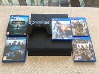 Playstation 4 1 TB Console (Bundle) in Great Condition (£240 ONO)