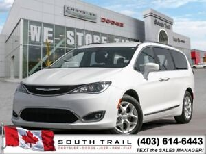 17 Chrysler Pacifica Touring-L Plus,WHITE,PC,DVD,LOADED $337 BW
