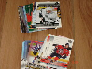 Cartes de hockey, lot d'Inserts UD 2002-03 et 03-04 (21.9%)